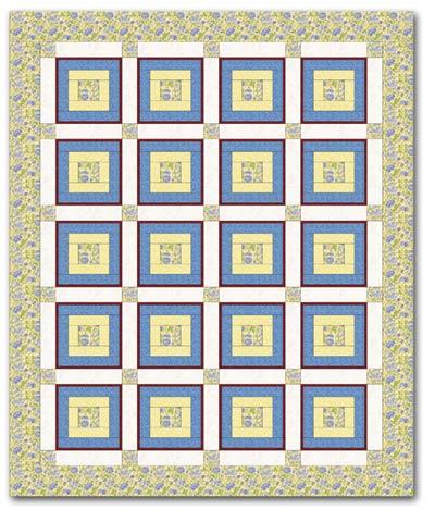 Rough idea of Cassandra's quilt design