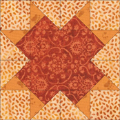 Centennial quilt block