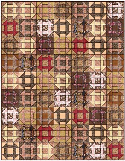 Churn Dash Quilt Designs