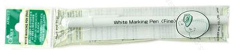 Clover White Iron Water Soluble Marker