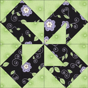 Colorado Beauty quilt block design