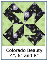 Colorado Beauty quilt block tutorial