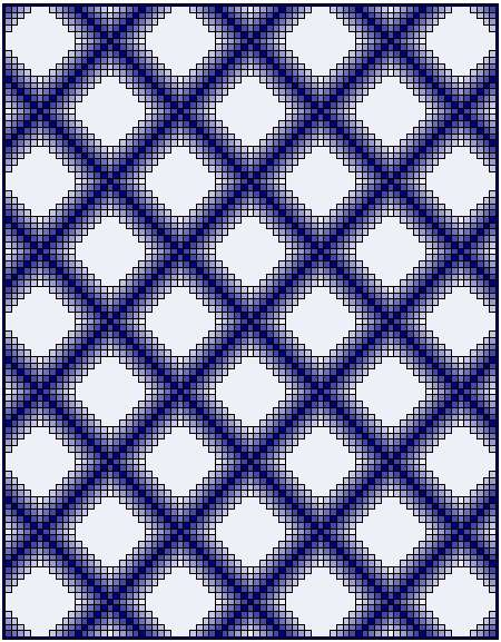 Colorwash Irish Chain Quilt