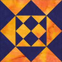 Coxcomb quilt block