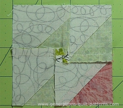 Crown And Thorns Quilt Block Instructions 4 Sizes Included