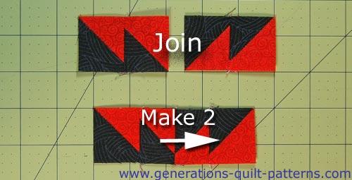 Make 2 side units