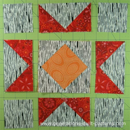 Crystal Star Quilt Block Tutorial Instructions For 5