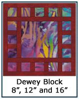 Dewey quilt block tutorial