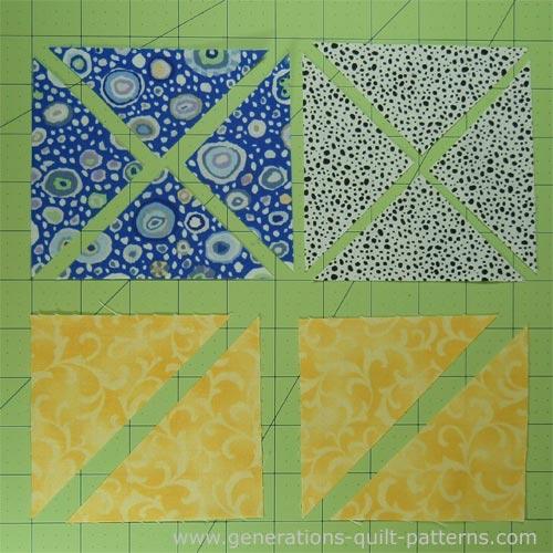 Free Quilt Block Patterns Pinwheel : Double Pinwheel Quilt Block: 3