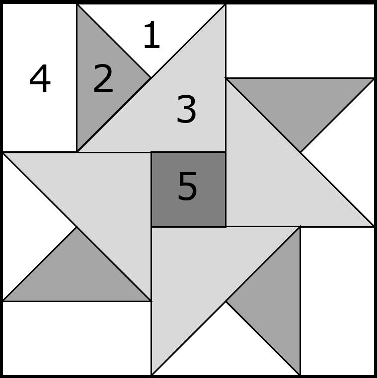 Double Star Quilt Block Tutorial 7 5 Quot 10 Quot 12 5 Quot And 15
