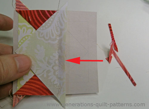 Double T Quilt Block Tutorial Includes Free Paper Piecing