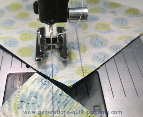 Sewing HSTs