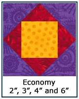 Economy quilt block tutorial