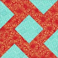 Economy quilt block variation 2