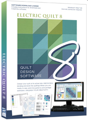 Electric Quilt 8 software available from Amazon