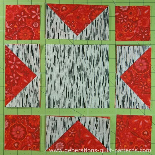 Evening Star Quilt Block Tutorial 4 Quot 6 Quot 8 Quot 10 Quot And 12