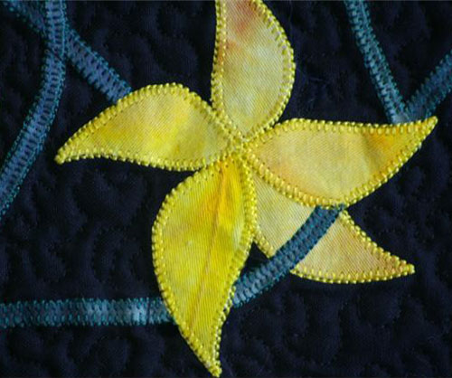 Blanket stitching from 'Every Quilter Dreams'