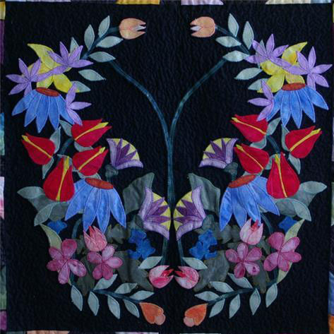 Center block from 'Every Quilter Dreams'