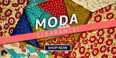 Moda Clearance Sale at Fabric.com
