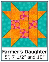 Farmer's Daughter quilt block tutorial