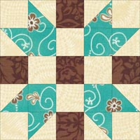 Father's Choice quilt block design