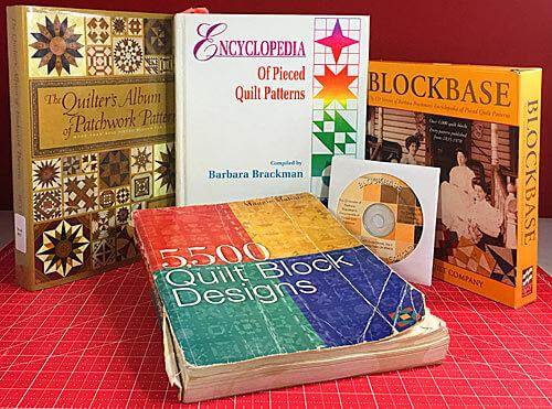 Cliquez ici pour découvrir mes ressources de livres de patchwork préférées qui inspirent mes modèles de patchwork.