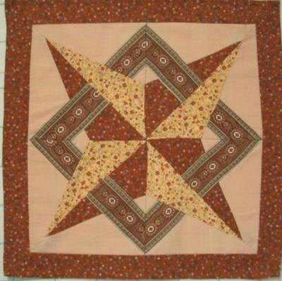Finding a star quilt block pattern