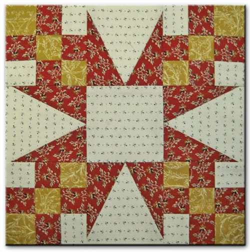 Star Chain Quilt Block Free Quilt Block Patterns Library