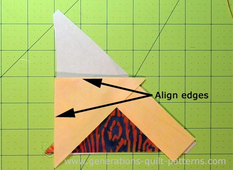 Flying Kite Quilt Block Download The Free Paper Piecing