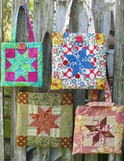 The Quilted Fox: Lemoyne Star Quilts