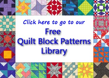 Free Quilt Patterns And Blocks : Ohio Star Quilt Block: Illustrated Step-by-Step Instructions in 5 Sizes