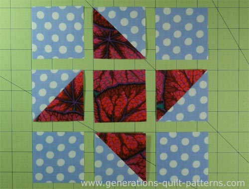 Friendship Star Quilt Block Instructions In 5 Sizes