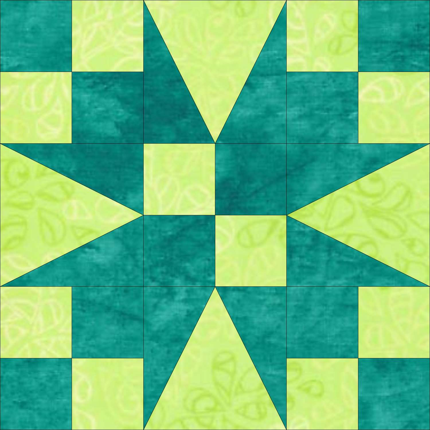 Garden Patch quilt block