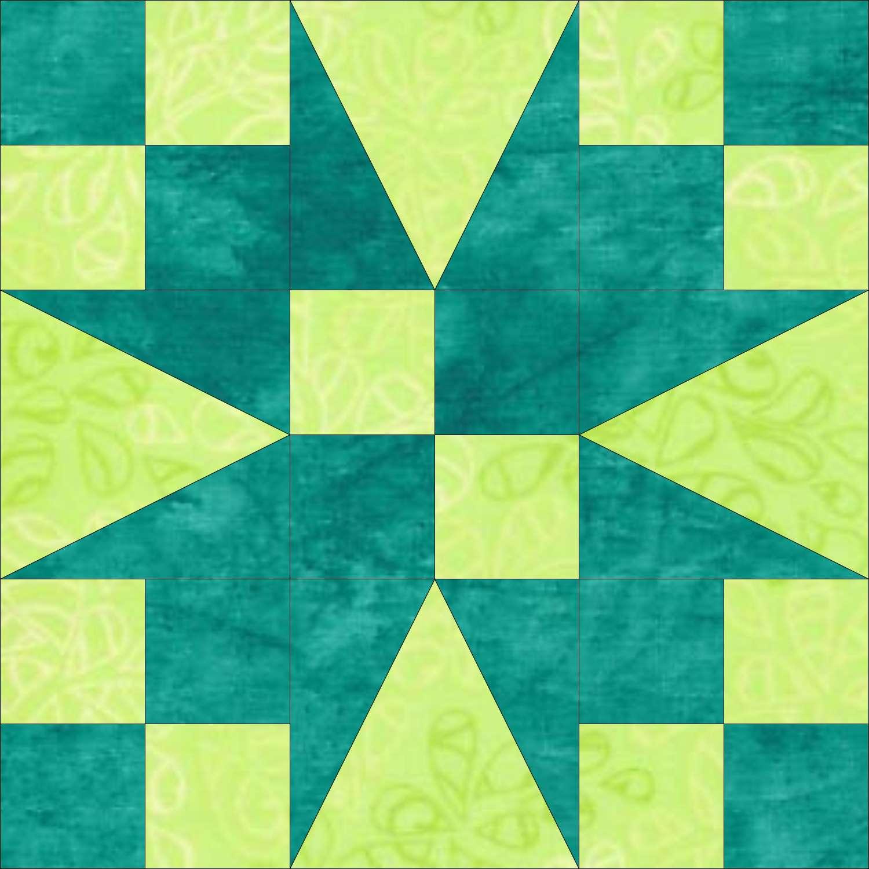 Garden Patch quilt block