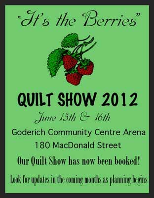 Goderich Quilters' Guild Quilt Show
