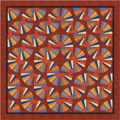 Grandmothers Fan Quilt Pattern Patterns Gallery