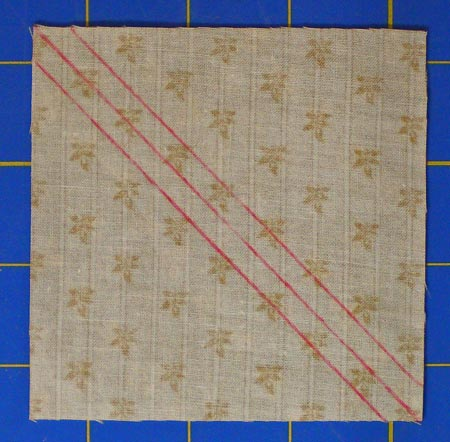 Quilt Patterns Using 12 Inch Squares : Easy Half Square Triangle Instructions / How to Make a Perfect Triangle Square