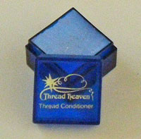 Use Thread Heaven to tame embroidery floss used as hand quilting thread