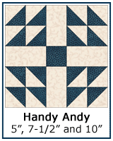 Handy Andy quilt block tutorial