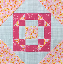 Harmony Square quilt block tutorial