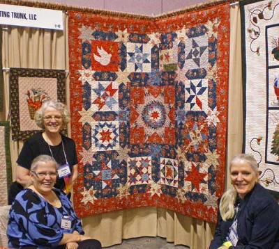 A Star Quilt Pattern by Sisters' Quilting Trunk, LLC