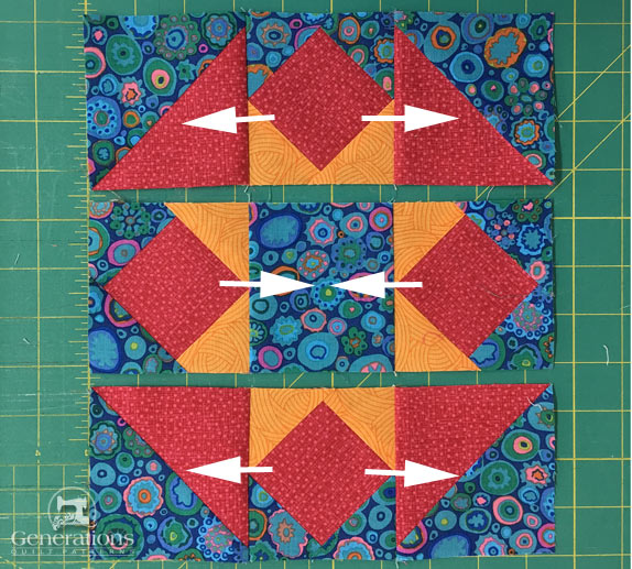 Hidden Star Quilt Block 6 9 And 12 Finished