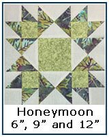 Honeymoon quilt block tutorial