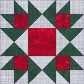Honeymoon quilt block