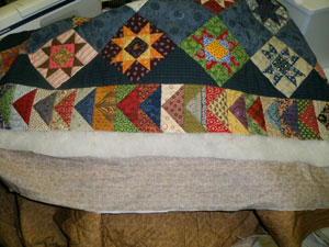 Quilt Batting: How much extra do I need? : what is batting in quilting - Adamdwight.com