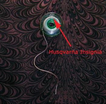Husqvarna bobbin right side up