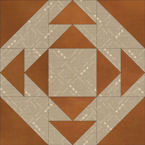 Illinois quilt block design