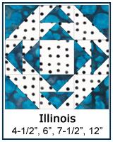 Illinois quilt block tutorial