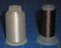 YLI Monofilament thread in clear and smoke colors