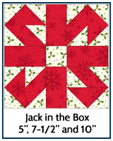 Jack in the Box quilt block tutorial